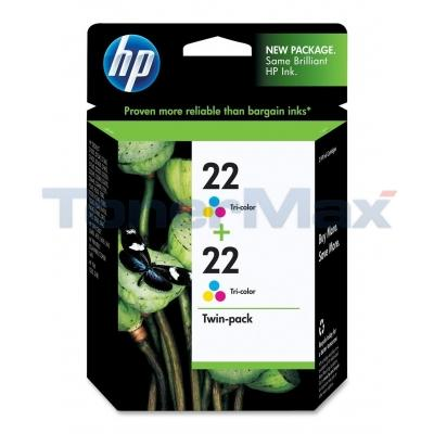HP NO 22 INKJET CART TRI-COLOR
